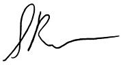 Sudip Parikh's signature